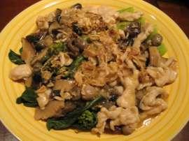 Chinese Chicken Mushroom