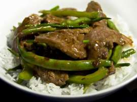 Beef Aed Green Pepper