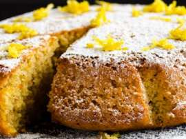 Gajar Lemon Cake