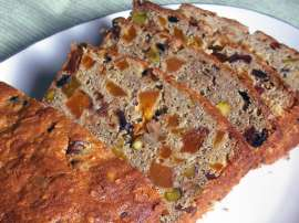 Dry Fruit Cake Slice
