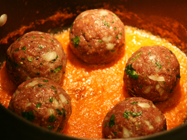 Fish Kofta With Tomatoo Sauce