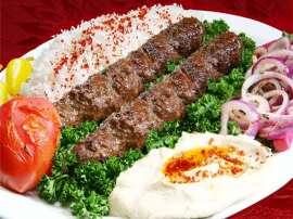 Fish And Veggie Kabab