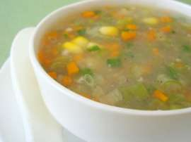 Thai Style Sweet Corn Soup