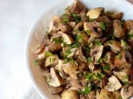 Chinese Garlic Mushroom