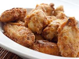 Pan Fried Chicken Wings