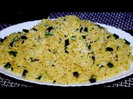 Simple Masala Rice Recipe