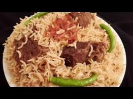 Yakhni Beef Pulao In Urdu