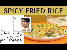 Spicy Fried Rice By Chef Zubaida Tariq