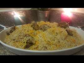 Mutton Pulao Lahori Style