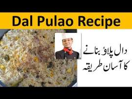 Dal Pulao Recipe