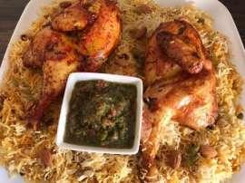 Chicken Mandi Saudi Style