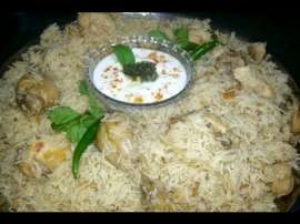 White Chicken Pulao
