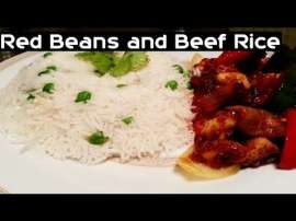 Red Beans And Beef Rice