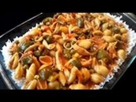 Salsa Pasta With Rice