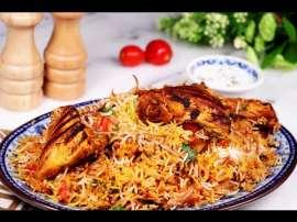 BBQ Chicken Biryani