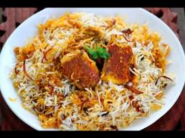 Boneless Fish Biryani