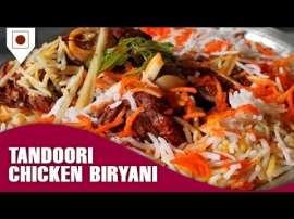 Lucknowi Tandoori Chicken Biryani