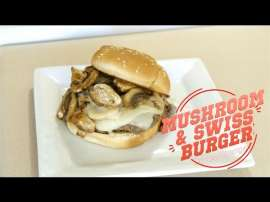 Mushroom And Swiss Burger