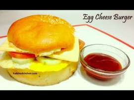 Delicious Egg Cheese Bargar