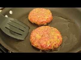 Lamb Moussaka Burger