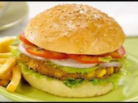 Malayalan Vegetable Burger