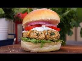 Falafel Burger Recipe