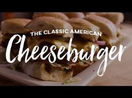 Classic American Cheese Burger