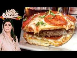 Hot Pizza Burger