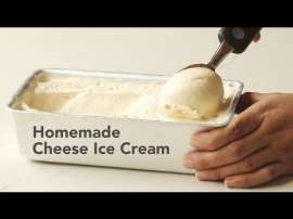 Homemade Cheese Ice Cream