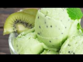 Homemade Kiwi IceCream