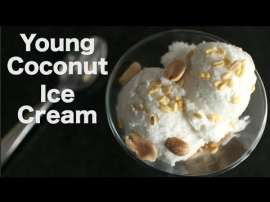 Young Coconut Ice Cream