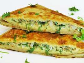 Mughalai Egg Paratha