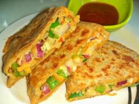 Pizza Parathas