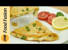 Folded Chicken Paratha