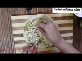 Paneer Sandwich Paratha