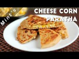 Cheese Corn Paratha