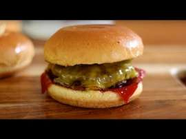 Best Cheese Burger With Ketchup