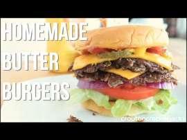 Home Made Butter Burgers