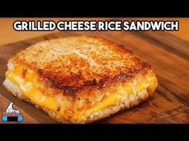 Grilled Cheese Rice Burger
