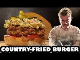 Down South Country Fried Burger