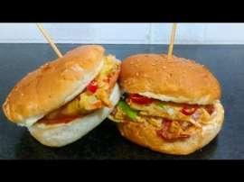 Omelet Burger