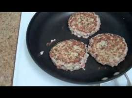Weight Loss Turkey Burger