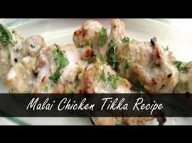 Chicken Malai Tikka Without Oven