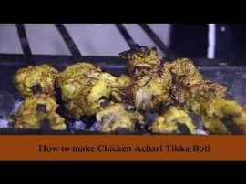 Chicken Achari Tikka Boti