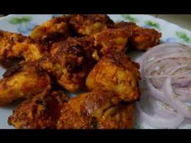 Tawa Fry Chicken Tikka