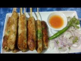Chicken Seek Kabab Tawe Par