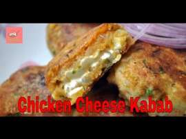 Chicken Cheese Kabab