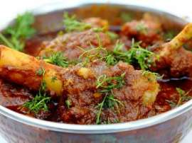 Mutton Brown Karahi
