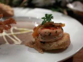 Garlic Prawn And Tartlets