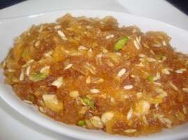 Apple Halwa - Saib Ka Halwa